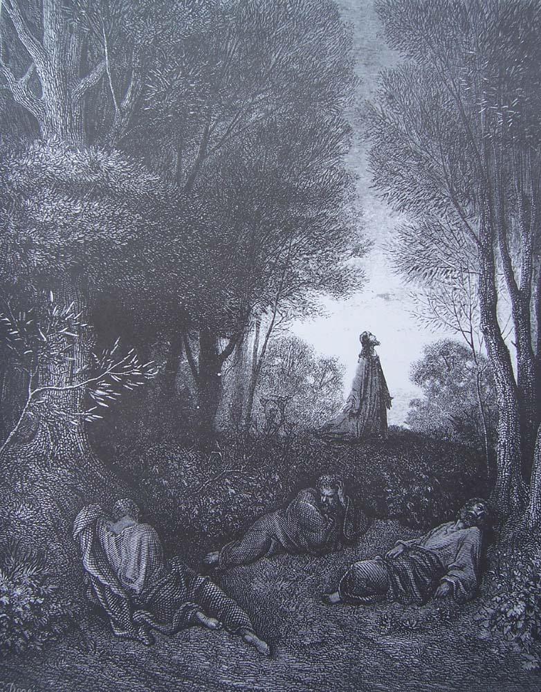 Matthieu 26 30 46 pri re de j sus au jardin des oliviers for Au jardin des oliviers