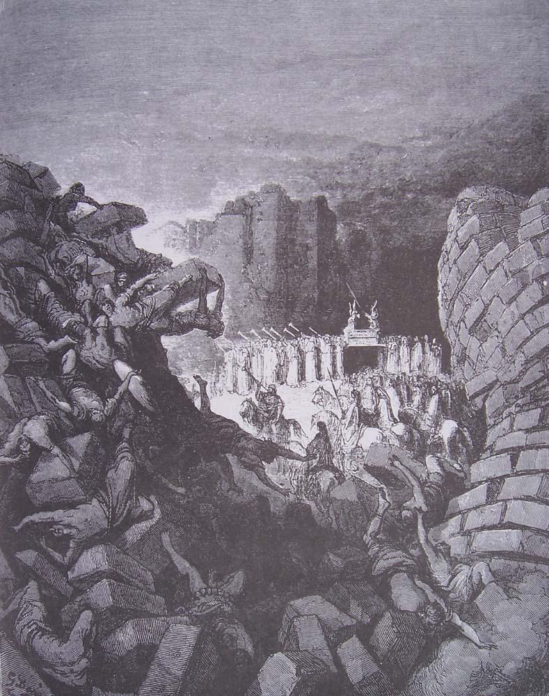 Josué 6 10 20 Les Murs De Jéricho Renversés